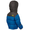 The North Face Infant Nuptse Hoodie Snorkel Blue